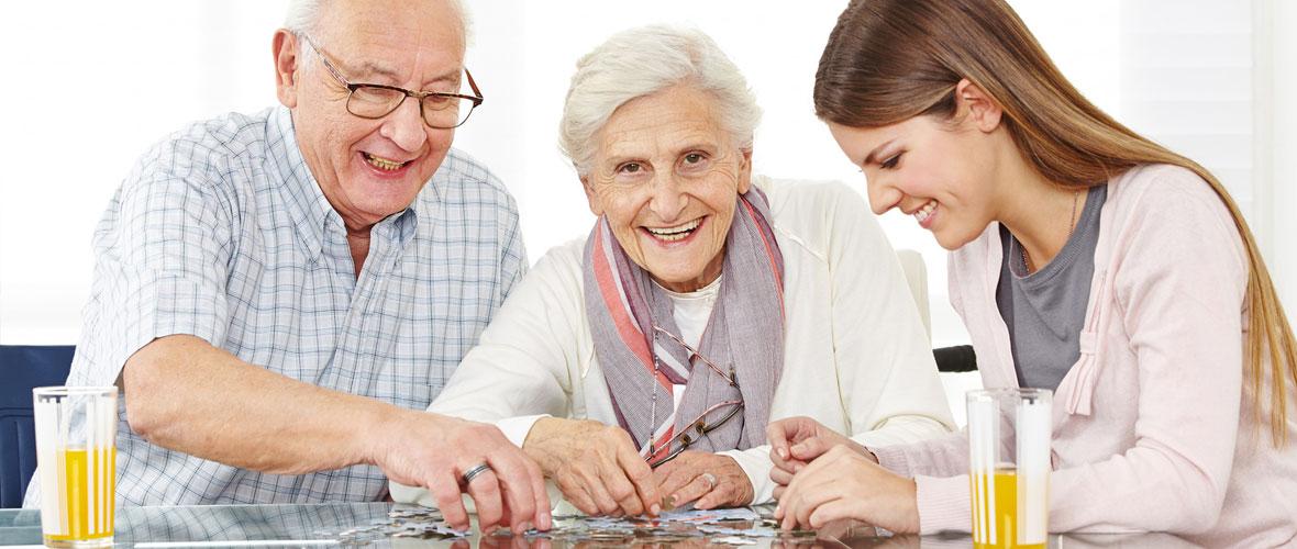 Personalvermittlung für häusliche Seniorenbetreuung